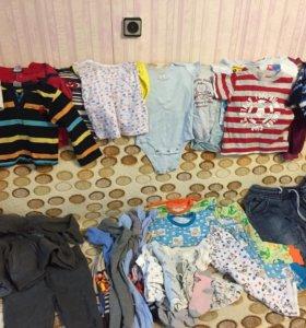 Пакет одежды детской 80-86