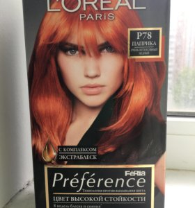 "L'Oreal Paris ""Preference Feria"", P78 Паприка"