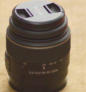 Sony A DT 3.5-5.6/18-55 SAM Ф55