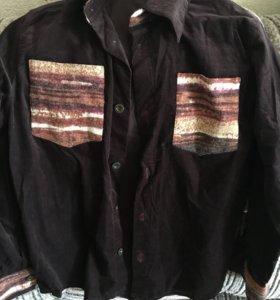 Рубашка ,вельвет