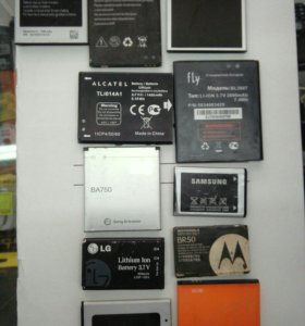 Батарейки к телефонам