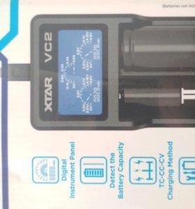 Умное зарядное устройство для литиевых аккумулятор
