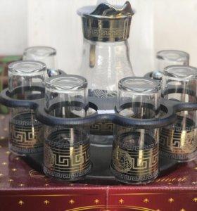 Набор стаканов с графином