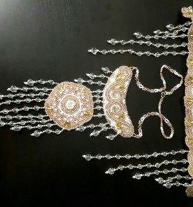 Якутское украшение из бисера