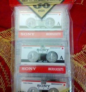 Мини кассеты Сони