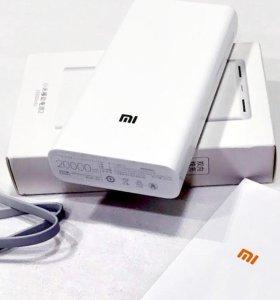 Xiaomi Power Bank 20000 mAh   Быстрая доставка