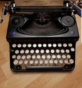 Антиквар печатная машинка