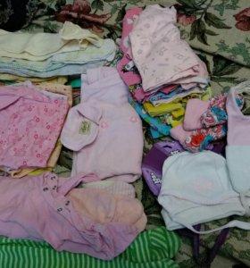 Пакет одежды для девочки,с рождения