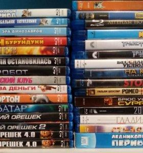 Коллекция Blue Ray дисков - 32 шт (бонус 32 DVD)
