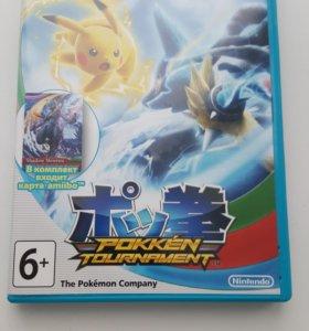 Игра Pokken tournament от Wii U