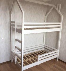 Кроватка детская 2х ярусная