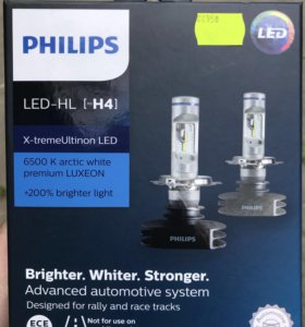 Philips led лампы Н4