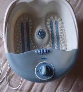 Ванночка для ног с массажным эффектом