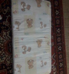 Матрас для детской кроватки 60×120