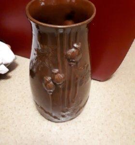 Напольная ваза, керамическая, новая