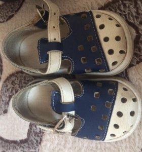 Детские ботиночки и сандали фирмы котофей