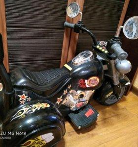 Продается детский электромотоцикл