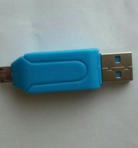 Переходник для телефона, SD и microSD карт