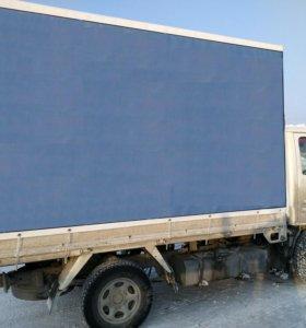 Тент и каркас с дверями на Ниссан Атлас 1.5 тонны