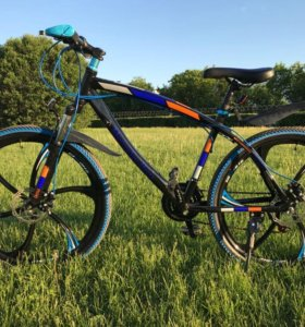 Велосипед Мерседес, новый