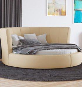 Новая круглая кровать Luna от орматек 220-220