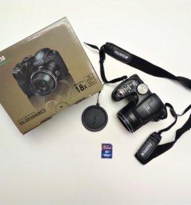 Новый фотоаппарат Fujifilm + Карта памяти 16 гб