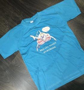 Новая футболка на 11-12 лет
