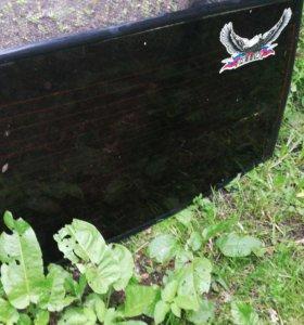 Крышка багажника на ваз 2114  стекло