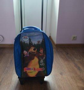 Чемодан-рюкзак для путешествий