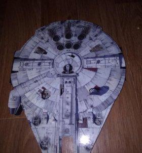 Коллекция фигурок звёздные войны(вместе с кораблем