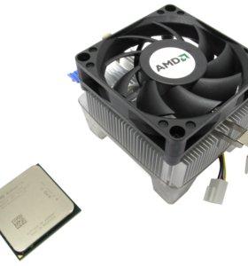 процессор AMD Athlon II X2 с системой охлаждения