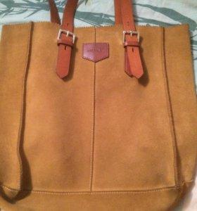Очень крутая новая сумка! Чистая кожа