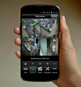 Видеонаблюдение охранная и пожарная сигнализация