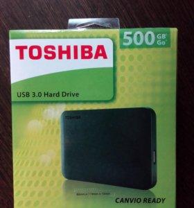 Внешний жесткий диск Toshiba 500GB Canvio Ready