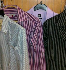 Рубашка М(48) мужская