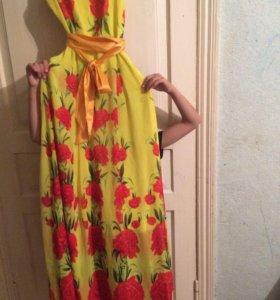 платье шифоновое шикарное