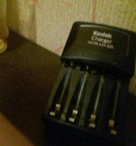 зарядка для батареек,AA и AAA.kodak наа 4 разема
