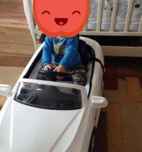 Машина на аккумуляторе!!!