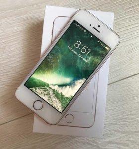 iPhone se 32gb rose gold гарантия до 14 августа