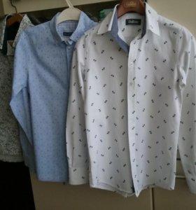 Фирменные рубашки 158/164