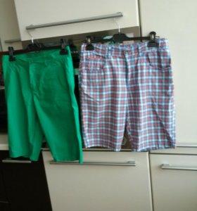 Фирменные шорты и футболки