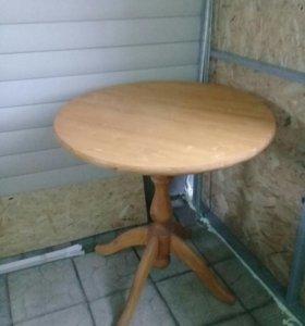 Стол натуральное дерево ( новый)