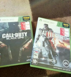 игры на xbox 360 Call of duty BO,Battlefield 4