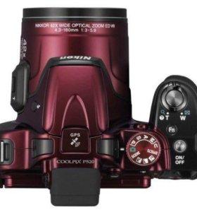 Только неделю 4000 руб.NIKON Coolpix P520 Red