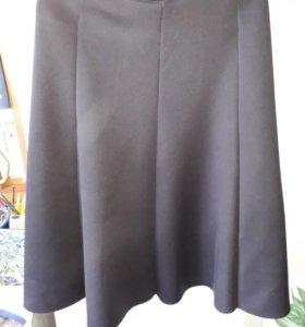 Черная юбка-солнце befree