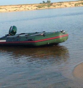 Лодка Ниссан торнадо 380