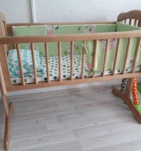 Люлька колыбель для новорожденных