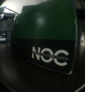 Игральные карты NOC V3 Deck (зелёный) - HOPC