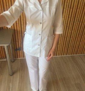Медицинский костюм р42 новый
