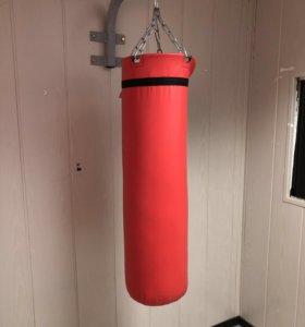 Мешок боксёрский 40 кг с резиновой крошкой